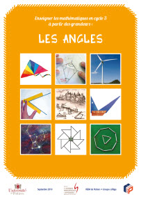 Couverture brochure Angles Cycle 3 - Irem de Poitiers