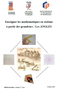 Couverture brochure les Angles